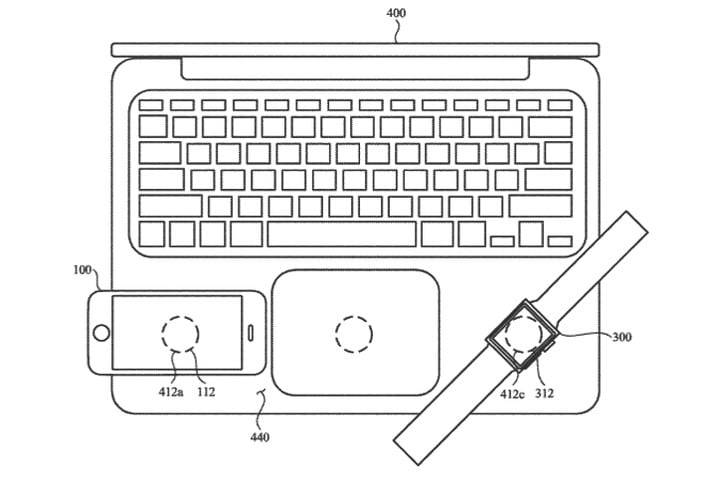 Apple Patents A Wireless System That Lets Devices Charge Each Other