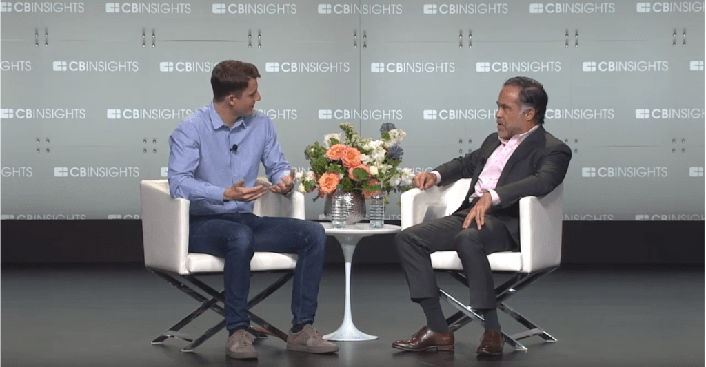 Stripe CPO William Gaybrick discusses Stripe's business strategy at CB Insights' Future of Fintech 2019 conference.